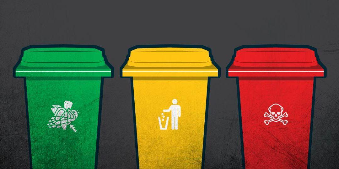 Warna-Warni Tempat Sampah dan Fungsinya