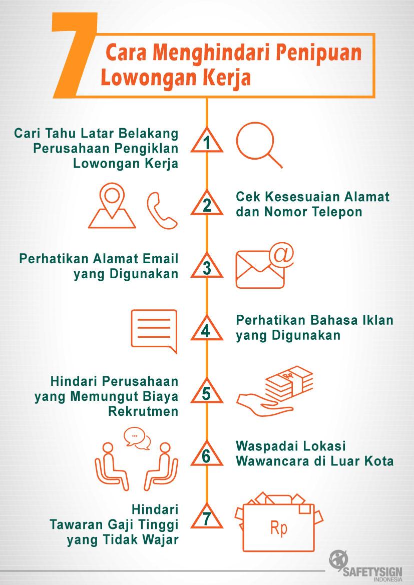 7 Cara Menghindari Penipuan Lowongan Kerja Safety Sign Indonesia