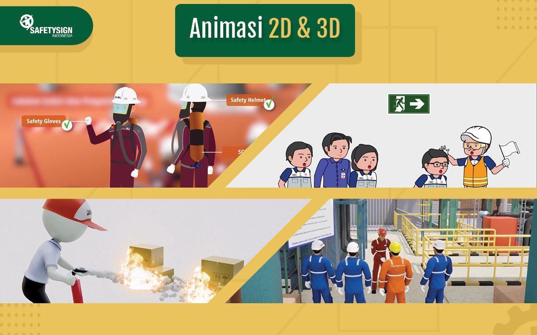 Kian Digemari, Video Animasi Bisa Jadi Alternatif Menarik Beri Safety Induction di Masa Pandemi
